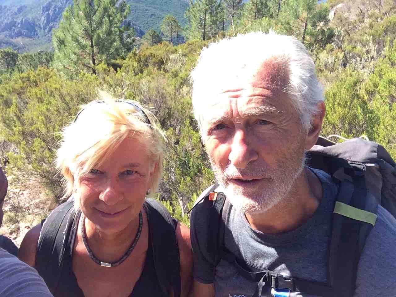 Mon ami Gégé GR20 En Corse