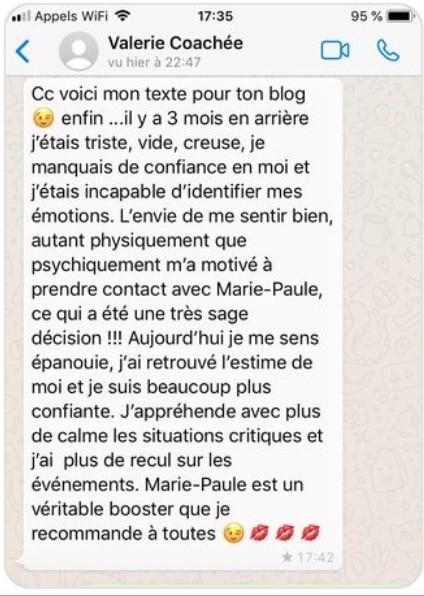 Témoignage Valérie